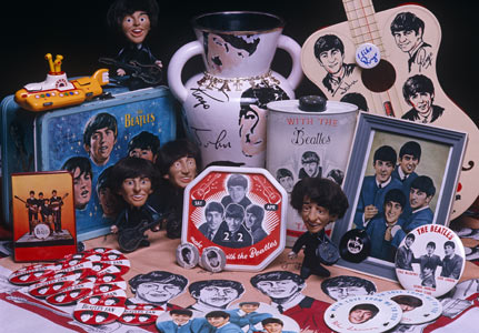 Image result for beatles merchandise